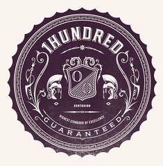1hundred by Ginger Monkey, via Behance