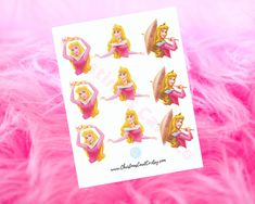 *PLEASE NOTE THIS IS A DIGITAL FILE. NO ITEM WILL BE SHIPPED TO YOU*  Make your party extra magical with these Disney Sleeping Beauty cupcake toppers! This JPG file includes 3 unique designs of Princess Aurora (sizes ranging from 2 - 2.75 inches in height) that are easy to cut out and stick onto your cupcakes. Disney Princess Cupcakes, Princess Cupcake Toppers, Nursery Room Decor, Girl Nursery, Disney Party Decorations, Baby Closet Organization, Disney Sleeping Beauty, Princess Aurora, Jpg File