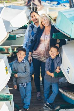 Cute Nautical Themed Family Photo Shoot from The Frosted Petticoat: Anchored Forever