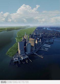 Manhattan: 1612 and 2012