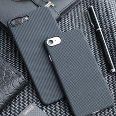 PITAKA Black&Grey Aramid phone case. Twill or plain? #choose #pitaka #black #grey #minimum #minimalist #aramid #iphone #iphone7 #phonecase #carbonfiber #love #protect #beauty #stylish #hightech #tech