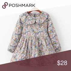 Beautiful Vintage Style Girls Puffer Dress 👗 Brand new Girls Vintage Style Puffer Dress 👗 available in various sizes. Well made, 100% cotton ! Please verify exact size needed before purchase thank you! 😊 Dresses Casual