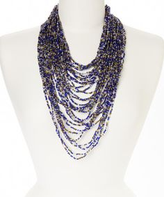 Another great find on #zulily! Spartan Iman Beaded Necklace by The Beaded Soul #zulilyfinds