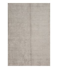 Take a look at this Gray Handloom Wool Rug by Jaipur Rugs on #zulily today!
