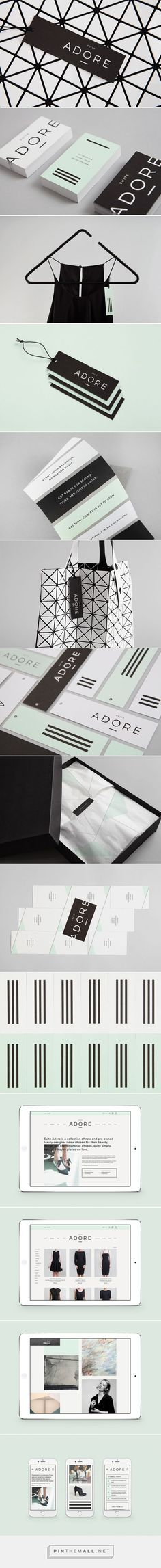 Suite Adore Luxury Consignment Retailer Branding by Blok Design | Fivestar Branding Agency – Design and Branding Agency & Curated Inspiration Gallery