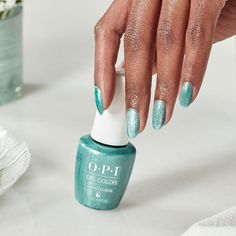 Your next gel mani is about to get a shimmery upgrade! Head to your favorite nail salon, pick a shade from #OPIVelvetVision, relax, and Voila! Light reflecting nails. Featured Shade: #EmeraldIllusion #ColorIsTheAnswer #OPIGelColor #OPIGelEffects #ShimmerNails #ShimmerMani #PartyNails #TrendyNails #NailTrends #SparkleNails #FallNails #SparkleMani #GlitterNails #GreenMani