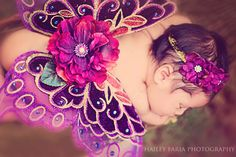 Baby Butterfly Wings and Headband Set Hand by MyaPapayaBoutique, $38.00