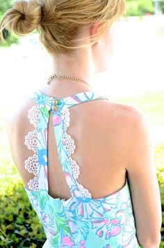 Lilly dresses - literally any Lilly dress top/with white shorts - SO cute for summer photo shoots