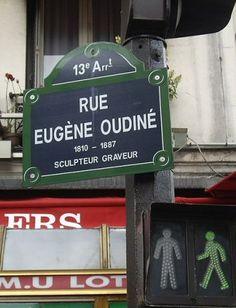 rue Eugène-Oudiné - Paris 13ème