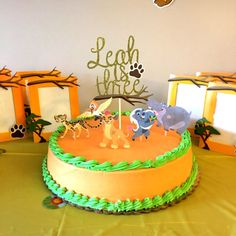 The Lion Guard Inspired Cake Topper/ The Lion by GreatCrafternoon