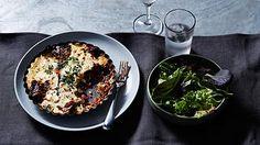 Vegetarian lentil and eggplant moussaka recipe : SBS Food