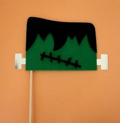 Frankenstein on a Stick by MaroDesigns on Etsy, $7.95