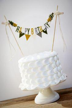 Where the Wild Things Are Cake Banner Birthday by pipsqueakandbean