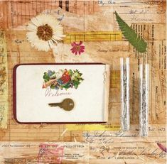 Mixed-media art tips with Kimberly Santiago   ClothPaperScissors.com