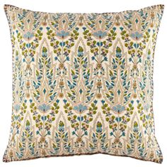 Lina Peacock Pillow