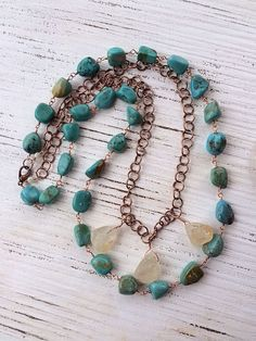 "The ""Sea and Me"" necklace by Sea Gypsies Collective"