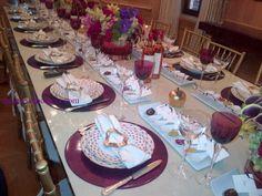 kim seybert, table setting ideas, holiday table settings, table ideas, jewish holidays, Rosh Hashanah,