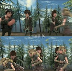 Hiccup: no Astrid no, calm yourself I don't want to have to carry a dead body back to town.-Sam// I love her face, laughed so hard! Httyd Dragons, Dreamworks Dragons, Disney And Dreamworks, Dragon 2, Dragon Rider, Hicks Und Astrid, Dragon Defender, Dragon Memes, Hiccup And Astrid