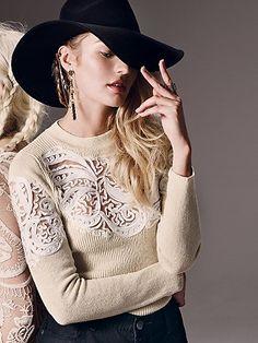 Oooooh that sweater though!