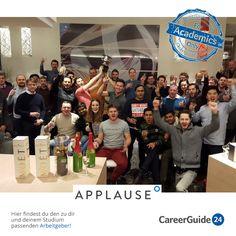 Die Applause GmbH ist ein junges Unternehmen im Bereich digitaler Anwendungen und weltweit führend in der Qualitätssicherung von mobilen Apps, Webseiten und Software. Hier findest du den Direkteinstieg in die Arbeitswelt sowie Praktika und Jobs als Werkstudent.