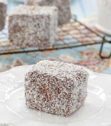 Classic Lamingtons - There is perhaps no cake as lovely as a buttery, chocolaty lamington, try them today!