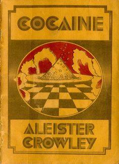 Aleister Crowley Vintage Book Covers, Vintage Books, Cool Books, My Books, Book Cover Art, Book Art, Diablo Guardian, Book Design, Cover Design
