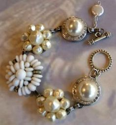 Vintage earring bracelet D94 $35.00 Buy and Sell Crafts On Line | Handmade Crafts to Sell? Free Posting