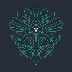 Destiny 2 Hunter design on @TeePublic!