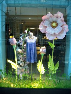 spring - window merchandising