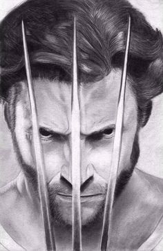 Wolverine (Hugh Jackman) by sarcazmatic on DeviantArt