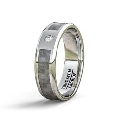 Width: Fit: Comfort Fit Thickness: Weight: Approximately depend on sizes Surface: Polished Edge: Beveled Color: Chrome Feature: CZ Tungsten Mens Rings, Tungsten Carbide Wedding Bands, Wedding Men, Wedding Rings, Silicone Rings, Carbon Fiber, Fashion Rings, Rings For Men, Color Chrome