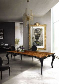 This table , the grey, the black, the gold!~ The Grand Design ~