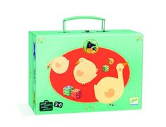 Djeco ~ Ludo & Co Junior Ludo, Game 3, Junior, Whimsical Art, Kids Toys, Children's Toys, Toy Chest, Suitcase, Lunch Box