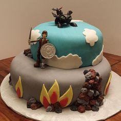 How to Train Your Dragon cake | Flickr - Photo Sharing!