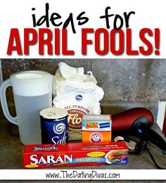 April Fools day is right around the corner.  Here are 10 fun, but harmless ideas. www.TheDatingDivas.com #aprilfools #pranks #tricks