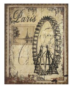 Another great find on #zulily! Burlap Ferris Wheel Wall Décor by Stonebriar Collection  #zulilyfinds