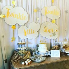 Twinkle Little Star Baby Shower Party Ideas