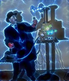 Pop Haydn and his Tesla coil