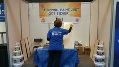Come and see us at the National Homebuilding & Renovating Show today and tomorrow #NEC #DIY #Homestrip