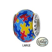 Autism Awareness Jewelry Bead For Add A Charm Bracelets