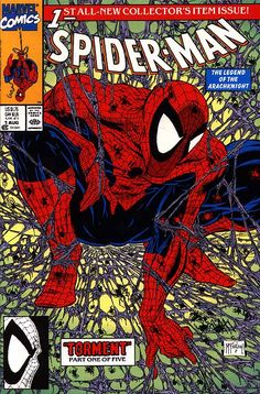 One of the most iconic cover of the nineties have not aged so well after all. But in any case we have to give Todd McFarlane credit for what he did with his cartoony, over-the-top style.