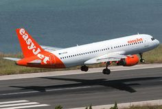 G-EZUA - easyJet Airbus A320 (26 views) Easy Jet, Aviation Image, Cargo Airlines, Commercial Aircraft, Jet Plane, Jets, Airplanes, British, Colours