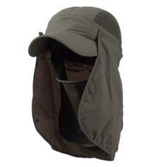 UV 50+ Talson Removable Flap Breathable Cap - Olive OSFM MG http://www.amazon.com/dp/B00EHSP3K8/ref=cm_sw_r_pi_dp_PdsHvb01XAMPZ