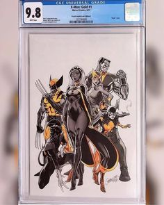 I admit I was ill prepared when @jscottcampbellart debuted his covers for X-Men Gold. I really wanted this cover but its sold out but look whos coming to my house!! She is literally dressed to the nines CGC 9.8 baby!!! A lot of hustling went into this one but now I save my money for variants Lesson Learned!! Im eagerly anticipating his Astonishing X-Men cover and I wont slip again!! Like G.I. Joe taught me Now I know and knowing is Half The Battle  Download images at…