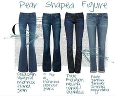 Dressing Trick for Pear Shaped Woman