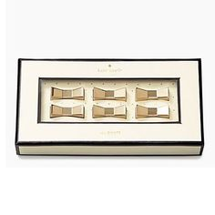 Cute gold bow magnets! kate spade new york Magnets Gold KSP145730