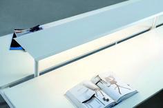 ABC - Sistema de iluminação para mesas de leitura.