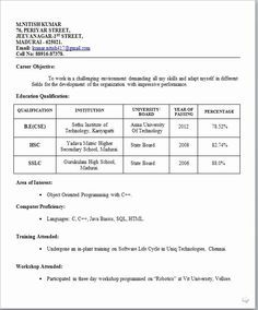 Simple Resume format for Freshers New Image Result for Simple Biodata format for Job Fresher Bio Simple Resume Format, Job Resume Format, Resume Summary, Resume Tips, Resume Examples, Sample Resume, Professional Profile Resume, Resume Profile, Resume Format For Freshers