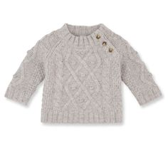 Baby Jungen Pullover mit Zopfmuster aus Wolle und Nylon Baby boy pullover with cable pattern in wool and nylon Knitting Patterns Boys, Baby Boy Knitting, Knitting For Kids, Crochet Patterns, Little Boy Outfits, Baby Boy Outfits, Kids Outfits, Baby Boy Cardigan, Crochet Baby Cardigan