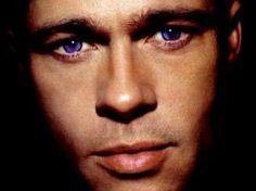 Brad Pitt Olhos Azuis - papel de parede para download